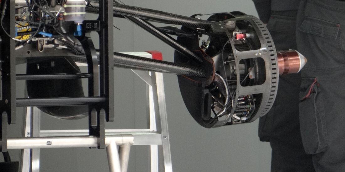 Sauber Bremsbelüftung - Formel 1 - GP China - 11. April 2013