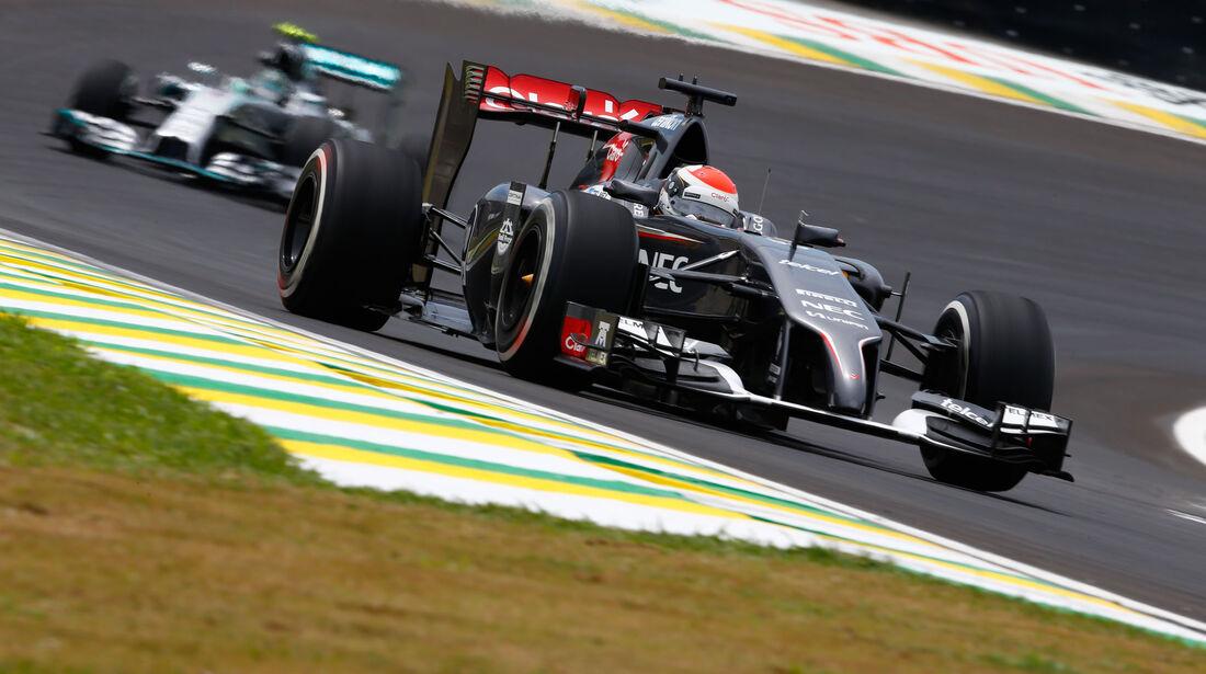 Sauber C33 - Esteban Gutierrez - GP Brasilien 2014