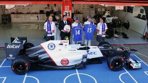Sauber & Chelsea - GP Spanien - 10. Mai 2012