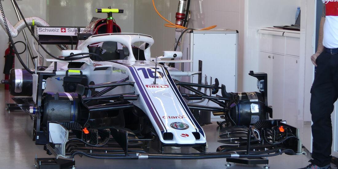 Sauber - F1 Technik-Details - GP Australien 2018 - Melbourne