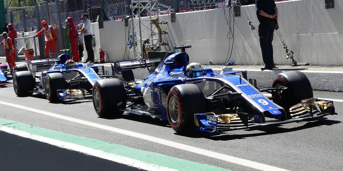Sauber - Formcheck - GP Italien 2017
