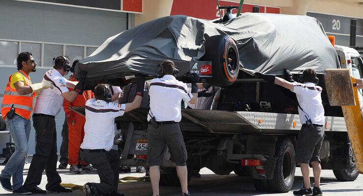 Sauber - Formel 1 - Bahrain - Test - 19. Februar 2014
