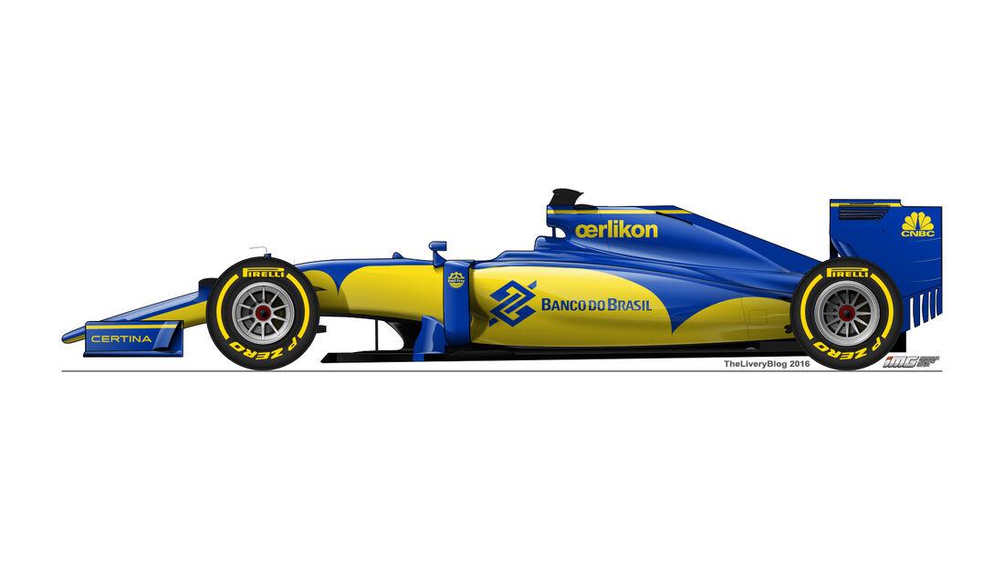 Sauber - Formel 1 Design Concepts 2016