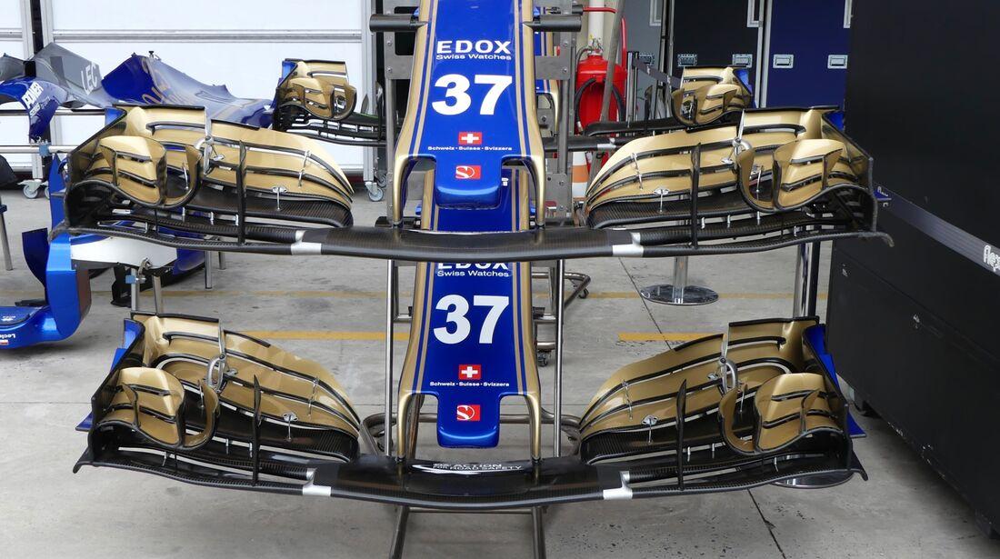 Sauber - Formel 1 - GP Brasilien - 8. November 2017