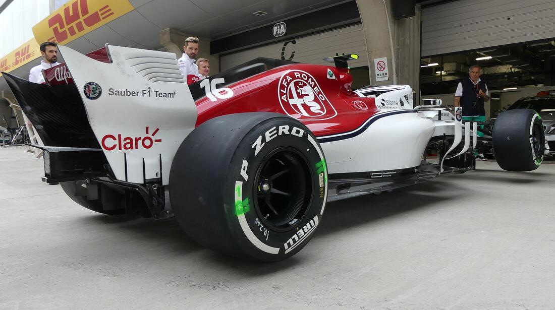 Sauber - Formel 1 - GP China - Shanghai - 12. April 2018