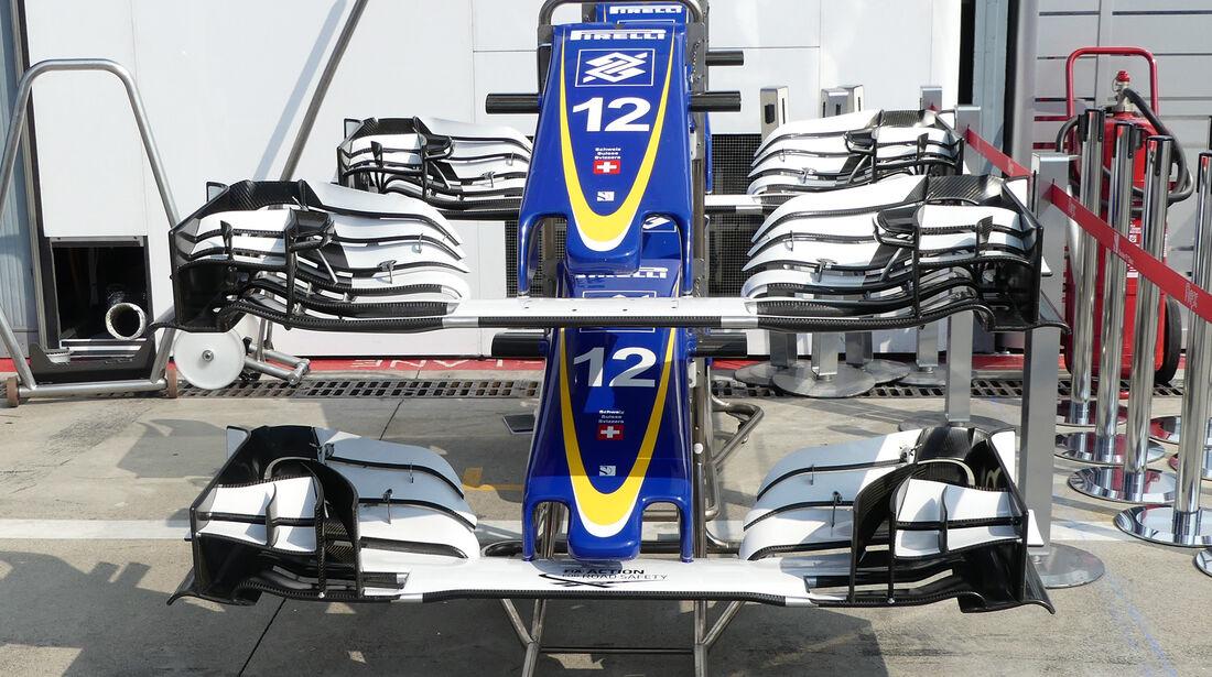 Sauber - Formel 1 - GP Italien - Monza - 1. September 2016