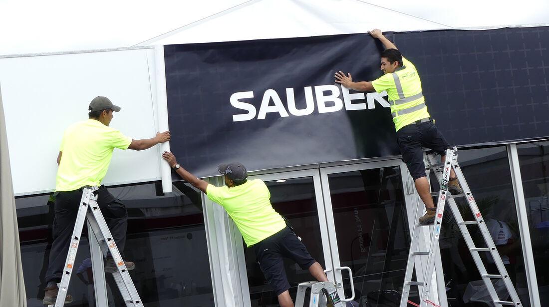 Sauber - Formel 1 - GP Kanada - Montreal - 6. Juni 2018