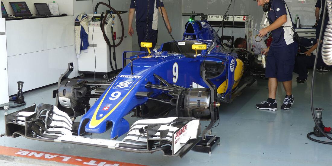 Sauber -  Formel 1 - GP Malaysia - Freitag - 30.9.2016