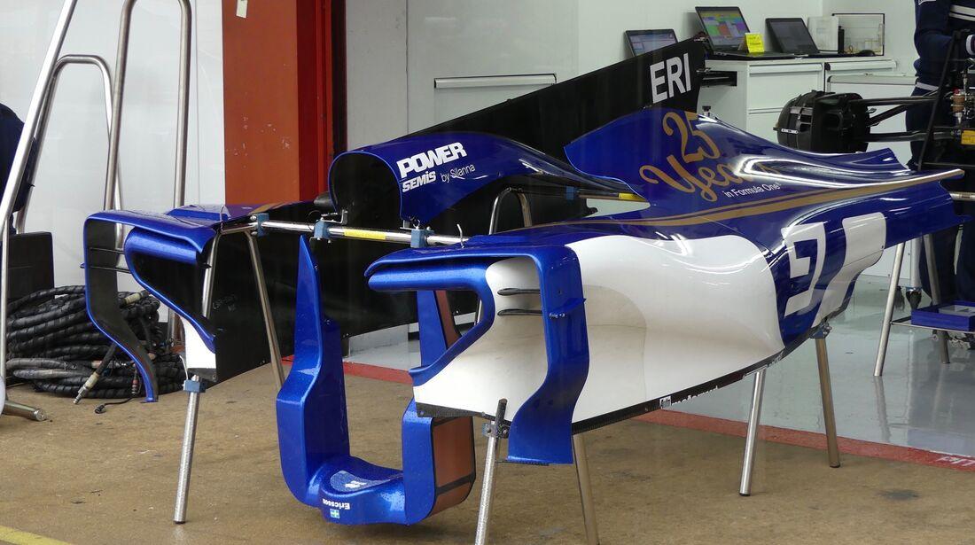 Sauber - Formel 1 - GP Spanien - 11. Mai 2017