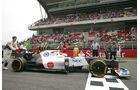 Sauber Formel 1 GP Spanien 2012