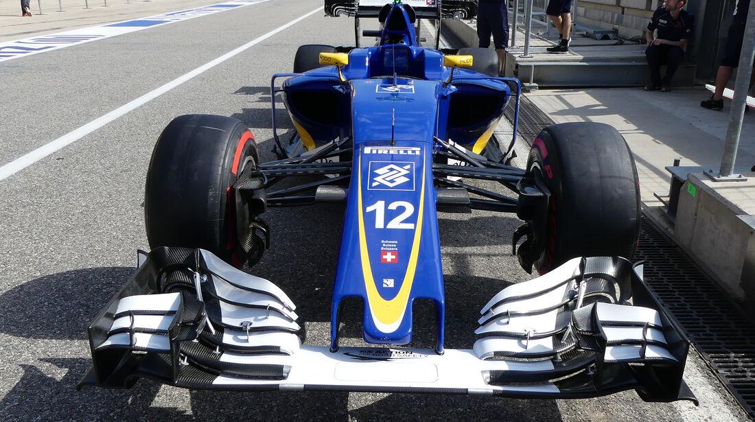 Sauber - Formel 1 - GP USA - Austin - 20. Oktober 2016