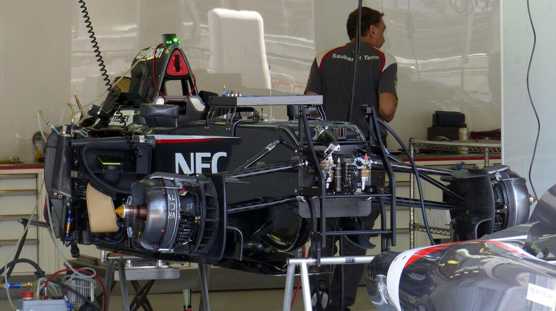 Sauber - Formel 1 - GP Ungarn - 24. Juli 2014