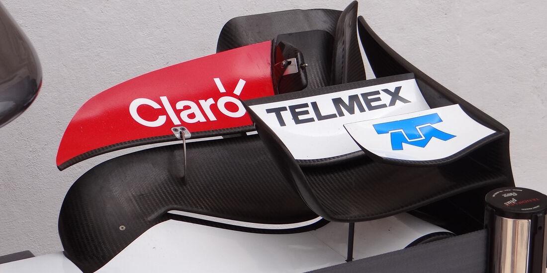 Sauber-Frontflügel - GP Europa - Valencia - Formel 1 - 22. Juni 2012