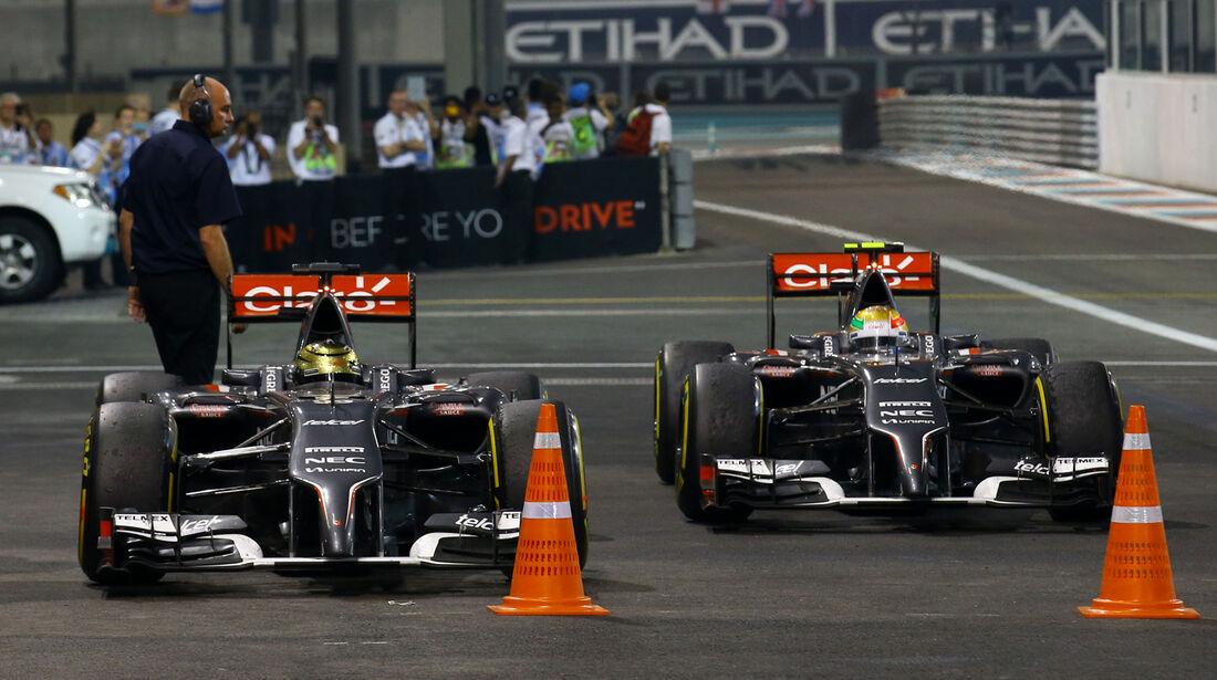 Sauber - GP Abu Dhabi 2014