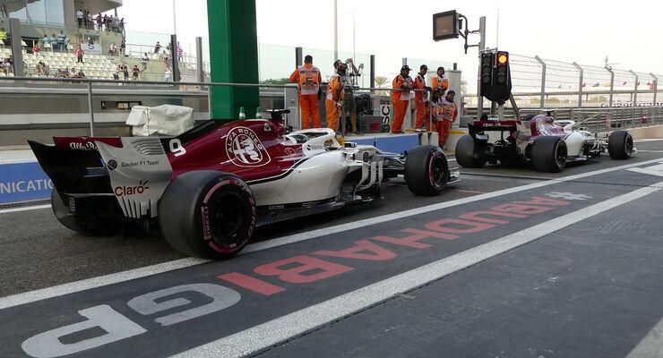 Sauber - GP Abu Dhabi 2018