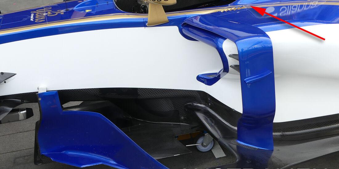Sauber - GP Australien - Technik - Formel 1 - 2017