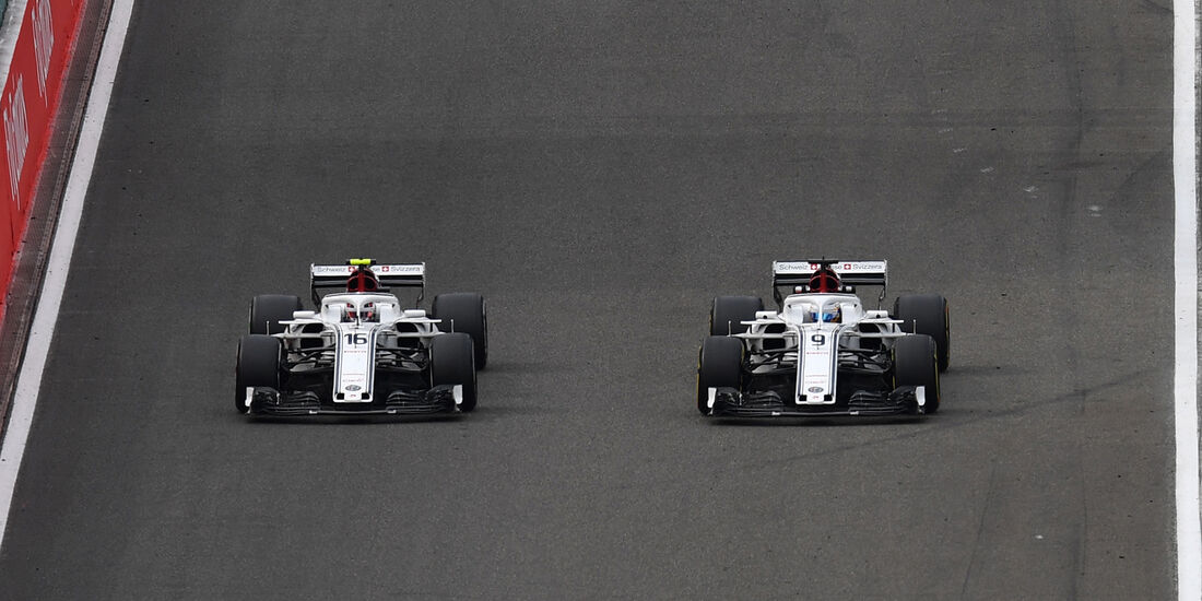 Sauber - GP Belgien - Spa-Francorchamps - 24. August 2018