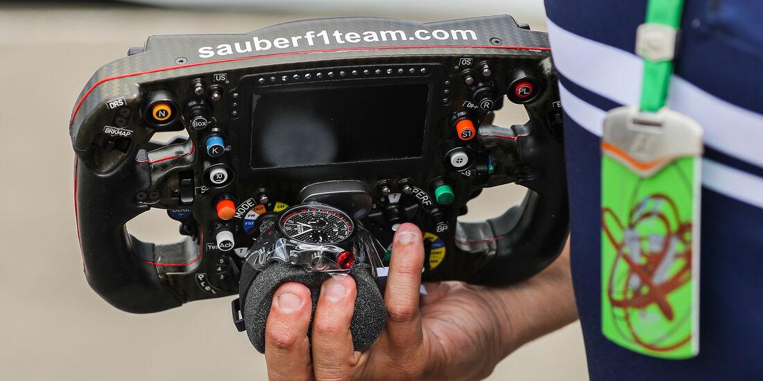 Sauber - GP Belgien - Spa-Francorchamps - Formel 1 - 24. August 2017