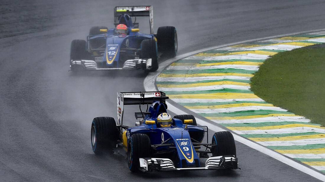 Sauber - GP Brasilien 2016