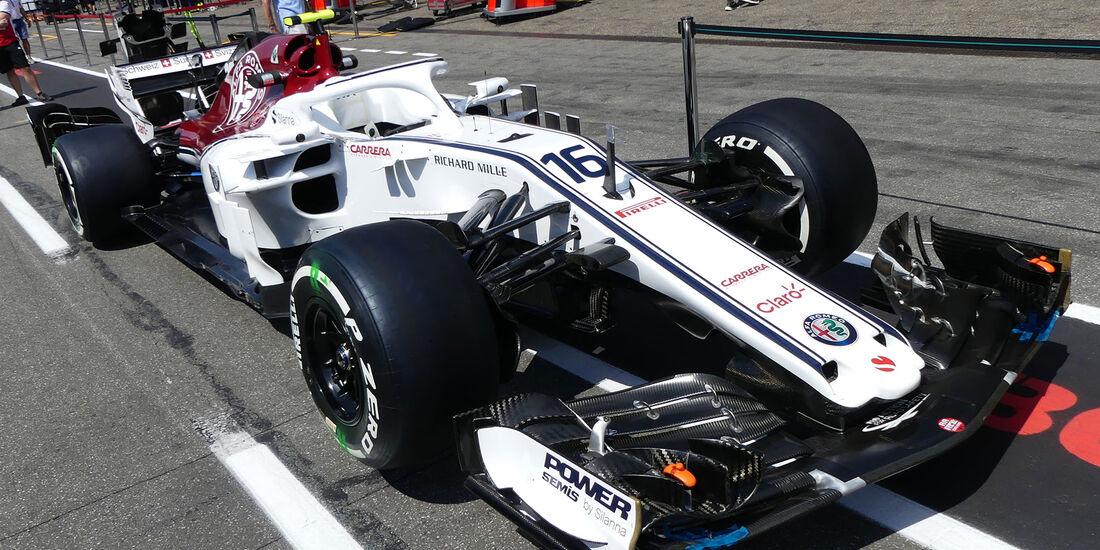 Sauber - GP Deutschland 2018 - Technik-Updates