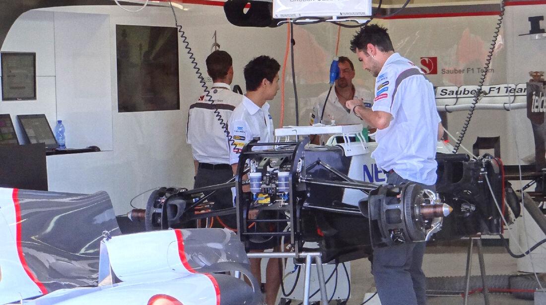 Sauber - GP Europa - Valencia - 21. Juni 2012