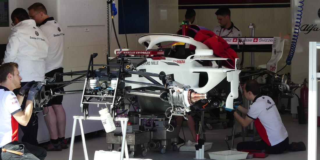 Sauber - GP Monaco - Formel 1 - Mittwoch - 23.5.2018