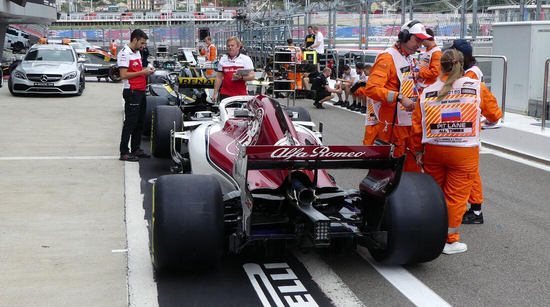 Sauber - GP Russland - Sotschi - Formel 1 - Donnerstag - 27.9.2018