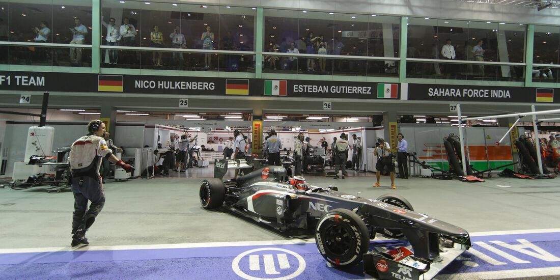 Sauber - GP Singapur 2013
