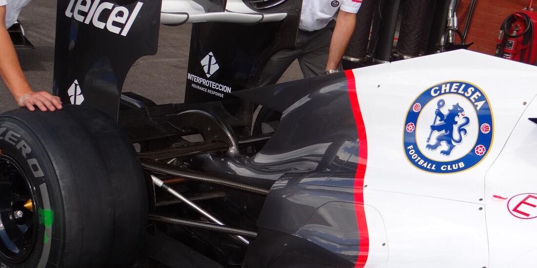 Sauber Getriebe 2012