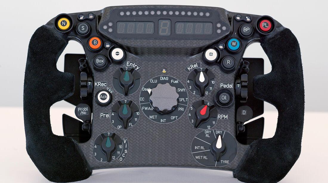 Sauber Lenkrad 2012