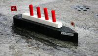 Sauber Schiffchen Regen
