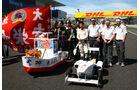 Sauber Seifenkiste - GP Japan - Suzuka - 6. Oktober 2011