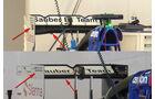 Sauber - Technik - GP Italien 2015