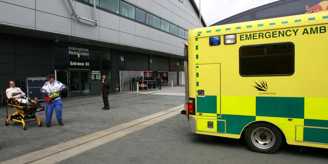Sauber Unfall GP England Silverstone 2012