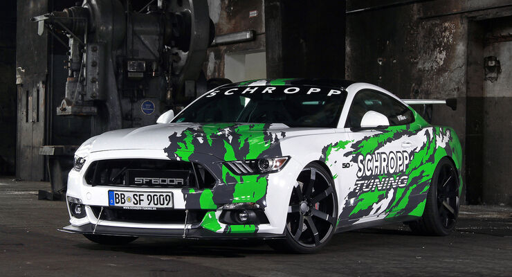 Schropp Tuning, Ford Mustang SF600R