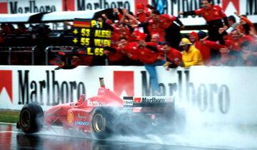 Schumacher - 1996 - GP Spanien 2016