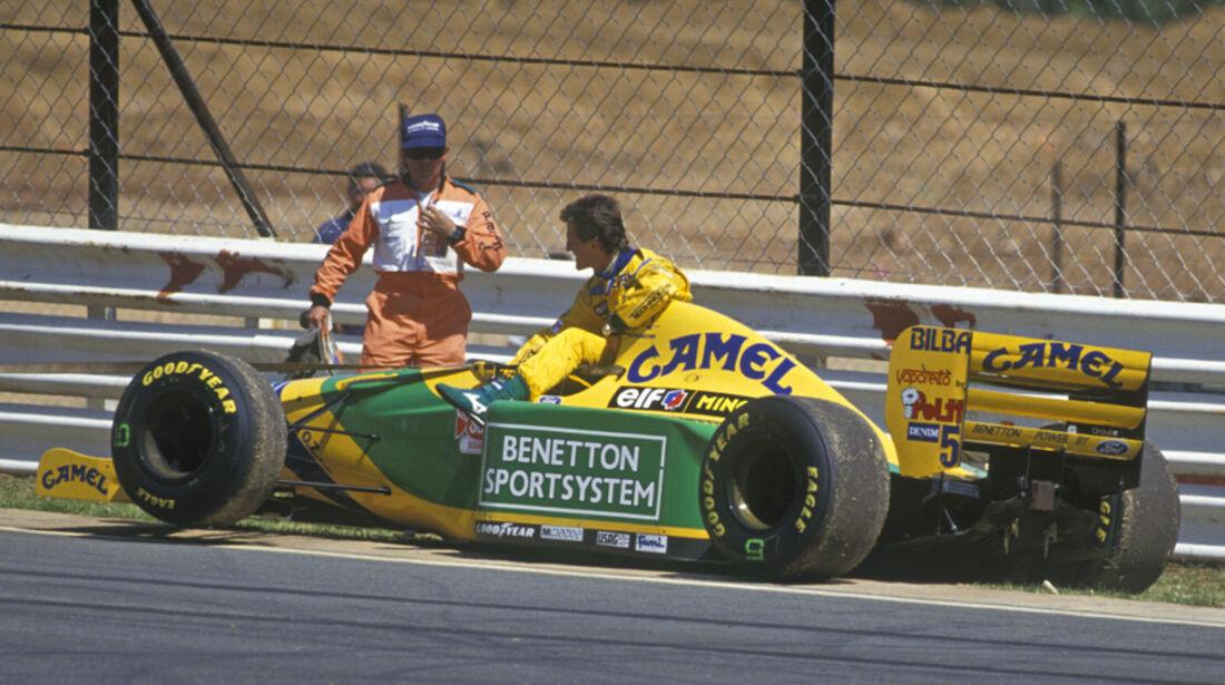 Schumacher Südafrika 1993