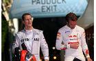 Schumacher & Vergne - GP Singapur 2012
