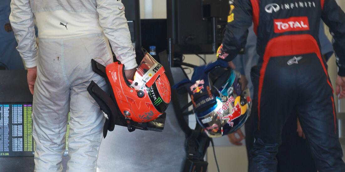 Schumacher & Vettel - GP Australien - Melbourne - 17. März 2012