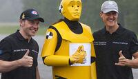 Schumacher und Villeneuve
