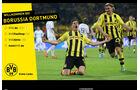 Screenshot Borussia Dortmund Homepage Lewandowski