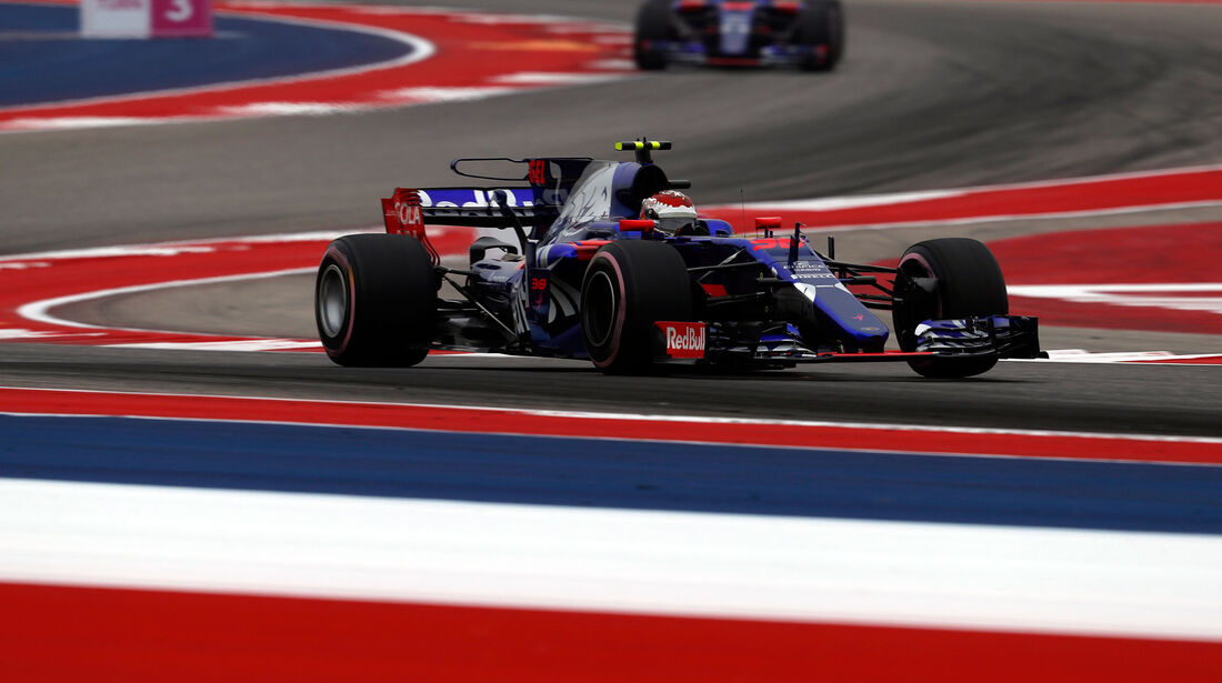 Sean Gelael - Toro Rosso - GP USA - Austin - Formel 1 - Freitag - 20.10.2017