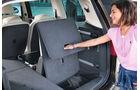 Seat Alhambra, dritte Sitzreihe, Kofferraum