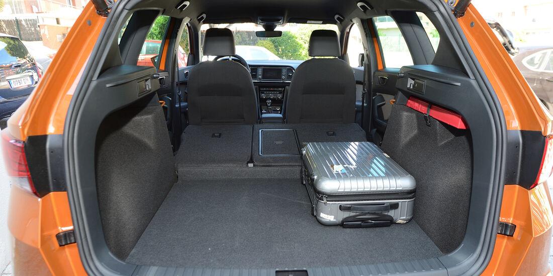 Seat Ateca, VW Tiguan, Fahrvergleich, AMS1316