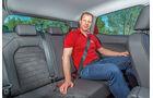 Seat Ibiza 1.0 TSI, Fondsitze