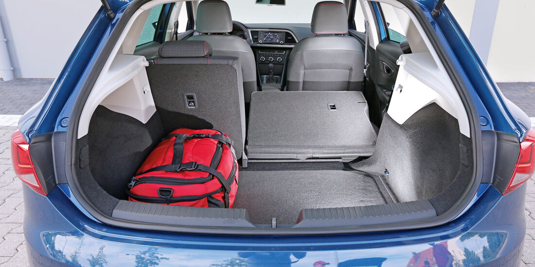 Seat León 1.8 TSI, Kofferraum