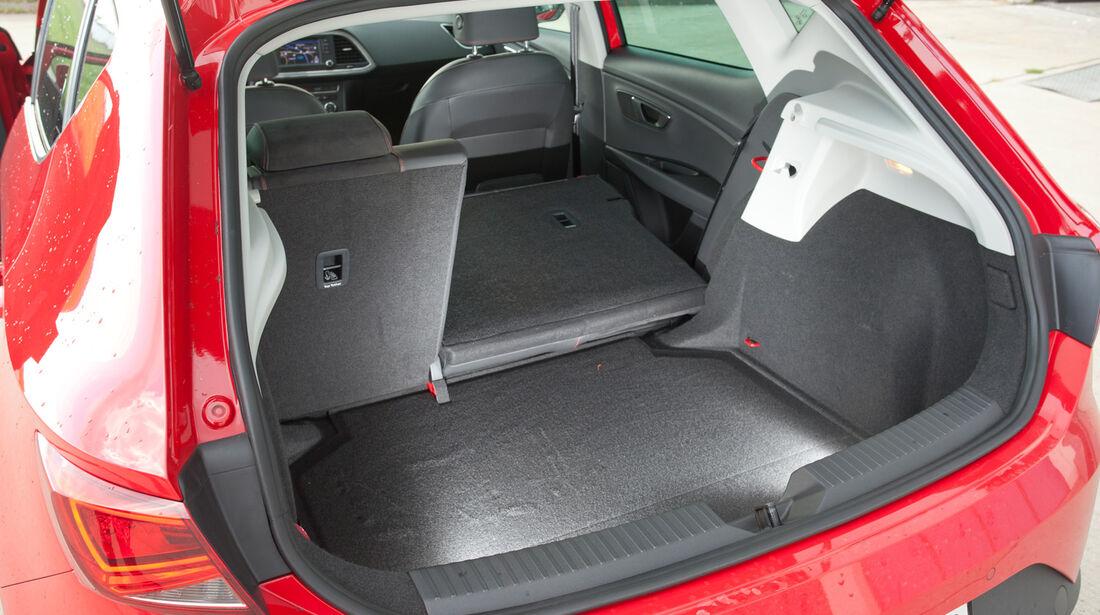 Seat Leon 1.4 TSI, Kofferraum