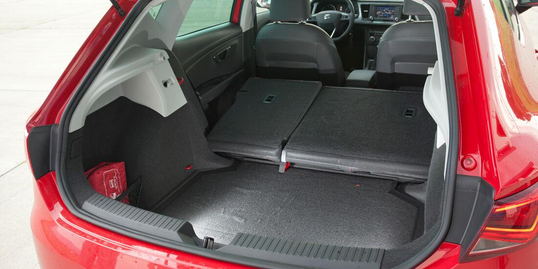 Seat Leon 1.4 TSI, Ladefläche
