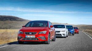 Seat Leon 1.5 TGI, Seat Leon ST 1.5 TGI, SEAT iBIZA 1.0 tgi, Seat Arona 1.0 TGI, Exterieur