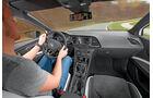 Seat Leon Cupra 280, Cockpit, Fahrersicht